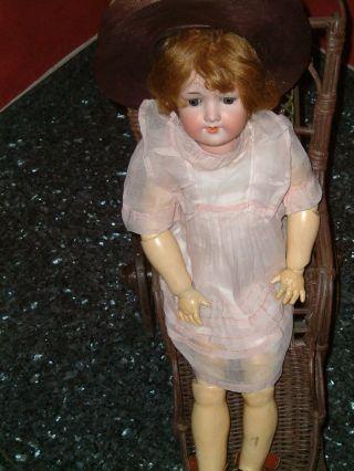 Antike Armand Marseille Porzellankopf Puppe,  390 A 5 1/2 M,  57 Cm Bild
