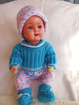 Antike Puppe,  Kwg Gemarkt,  Aus Masse,  Hübsche Alte Puppe Stimme Geht Noch Bild