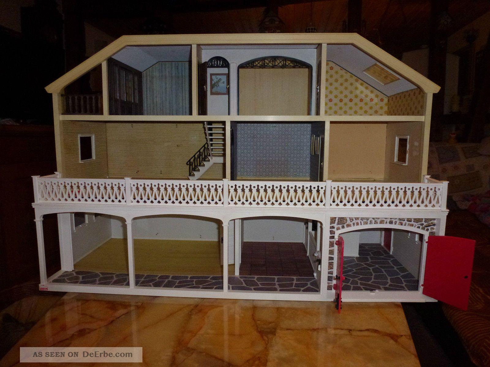 puppenhaus garage von lundby. Black Bedroom Furniture Sets. Home Design Ideas