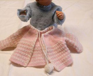 2 Jäckchen Für Kleine Alte Baby Puppe,  38 - 40 Cm Bild