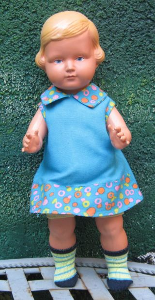Alte Celba Celluloid Puppe Bild