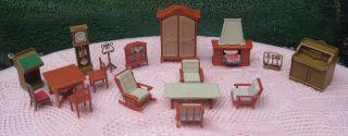 Puppenmöbel Von Jean Altdeutscher Stil Puppenhaus - Puppenstube - Puppenküche Bild