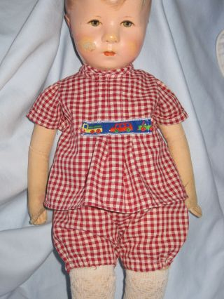 Sonderpreis: Spielanzug Hose,  Hängerchen Paßt Kk - Puppe Hampelchen,  Puppe 1cm Bild