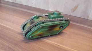 Blechspielzeug Panzer Aufziehbar Bild