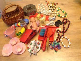 Konvolut An Alten Puppenstubenzubehör & Anderes,  Siehe Bilder Bild