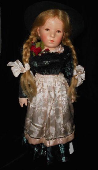 Stoff Puppe Viii Unbespielt Mit Originalen Karton - Absolutes Highlight - 14.  7.  36 Bild