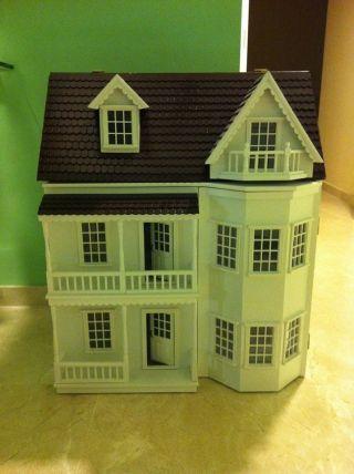 "Puppenhaus ""isabel"" Mit 4 Zimmern,  Dachgeschoss Bild"