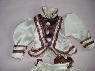 Puppenbekleidung,  Altes Puppenkleid,  Kleid,  M.  Schirm Bild