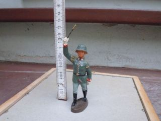 Massefigur,  Elastolin,  Reichswehr,  Dirigent,  Heeresmusikkorps,  Ca.  12 Cm Bild