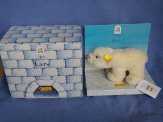 Steiff Eisbär - Der Kleine Eisbär Lars - Nr.  354274 - Neuwertig Bild