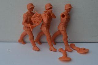 Elastolin,  3 Figuren Zum Bemalen,  7,  5cm Bild