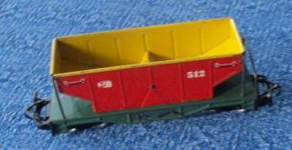 Billerbahn Schotterwagen Rot 512 4 Achsig Bild
