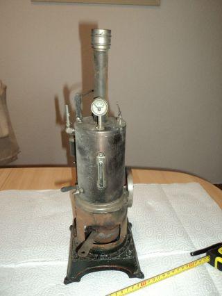 Stehende Dampfmaschine Dc Doll 320 / 5 Grösse Ca.  40,  5 Cm Bild