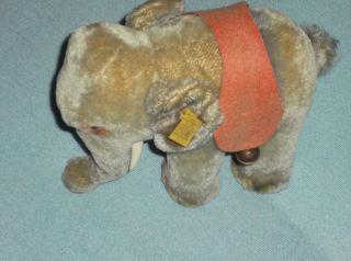 Steiff Elefant Schöner Mit Fahne,  Knopf,  Schild Bild