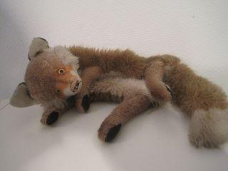 113.  Steiff,  Spielzeug,  Fuchs,  (renard) Handspieltier,  Wärmflaschenhülle,  - Selten - Bild