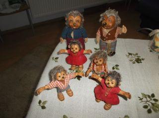 Mecki Mucki Steiff Igel Familie Bild