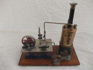 Alte Dampfmaschine Bild