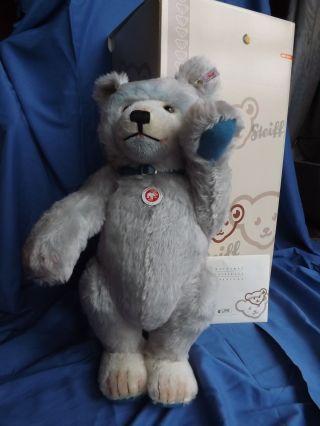 Steiff Teddybär Teddybaby Blau - 50 Cm V.  2007 - Nr.  037085 - Neuwertig Bild
