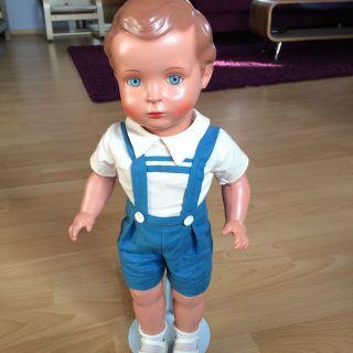 Schildkroet Puppe Hans 46cm 1980 Begrenzte Auflage Bild