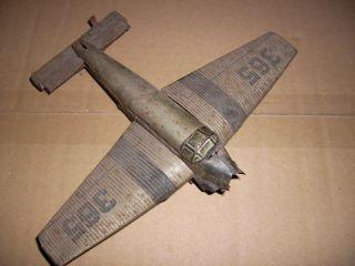 Habi Patent,  Habi,  Bomber,  365,  Altes Blechspielzeug,  Bastler,  Dachbodenfund,  Junkers Bild