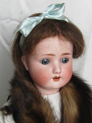 Porzellankopfpuppe 62 Cm Porzellan Puppe Sh Pb 1909 5 1/2 SchÖnau & Hoffmeister Bild