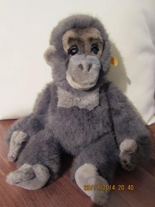Steiff 062452 - Baby Gora - Gorilla - Affe 32 Cm Mit Stimme Bild