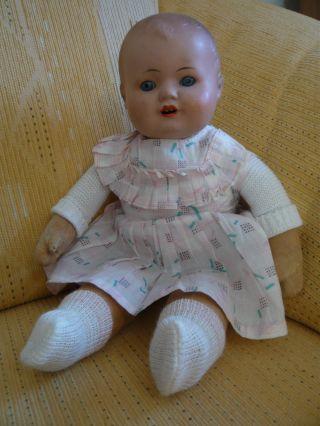 Entzückende Puppe Mit Bekleidung Ca.  33 Cm Bild