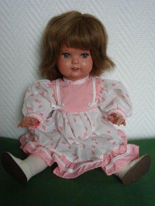 Alte Schildkröt Puppe 35 / 40 Cm 60er Jahre Sehr Gut Erhalten Erbstück Bild
