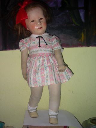 Puppe Von K.  Kruse Bild