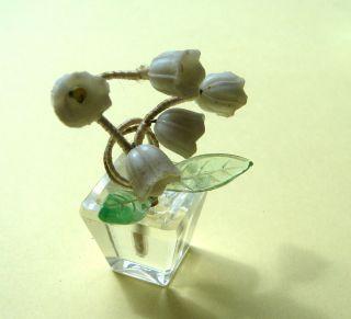 MaiglÖckchen,  Nach Faberge Um 1910 Seltene Blumendeko Für Den Puppensalon Bild