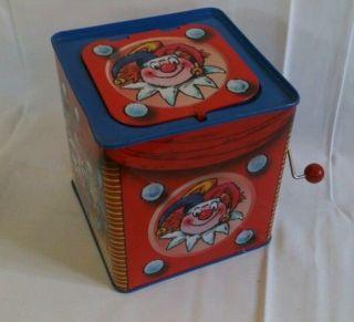 Blechspielzeug Clown In The Box,  Bolz Nostalgisches Spielzeuge Bild