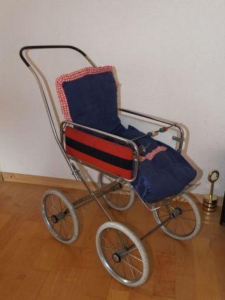 Puppenwagen Aus Den 70er Jahren Bild