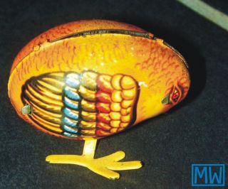 Altes Blechspielzeug,  Küken Zum Aufziehen Ohne Schlüssel,  Spielzeug,  Sammeln Bild
