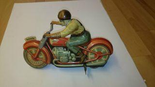 Technofix Motorrad Blechspielzeug Ge 258 G.  E.  258 Alt Bild