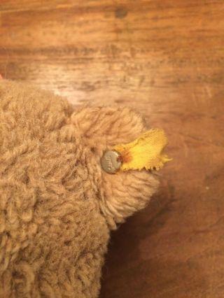 Antik - Teddy - Steiff - 30cm - Bespielt Bild