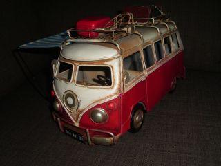 Vw T1 Camping Vordach Vorzelt Bulli Bus Blechspielzeug Bild