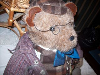 Sherlock Homes Teddy - Bär Erbe Bild