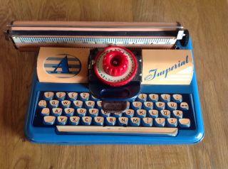 Altes Blechspielzeug - - Schreibmaschine - Imperial Bild