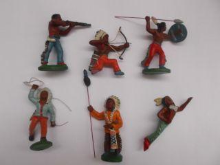 Ddr Lisanto Indianer Gruppe 1b 1961 Urzustand Top Bild