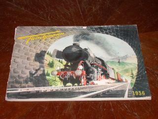 Fleischmann Katalog Von 1956 Bild
