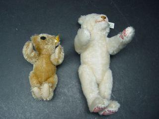 2 X Steiff Teddy Bär 029073 Und 407550 Dicky Bild