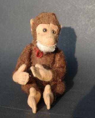 Steiff Affe 22 Cm Antik Monkey Mohair Bear Teddy Kein Knopf Fahne Alt Bild