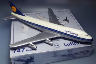 Schuco Blechflugzeug Boeing 747