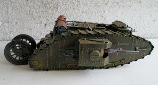 Panzer British Mark Iv Tank Edward E10 Tank Edward Blech Meltall Bild