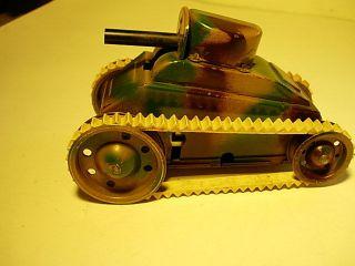 Gama Tank 30er Jahre. Bild
