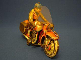 Tco/tippco - Motorrad Tco 59,  Hergestellt 50/60er Jahre - Mit Windschutzscheibe Bild