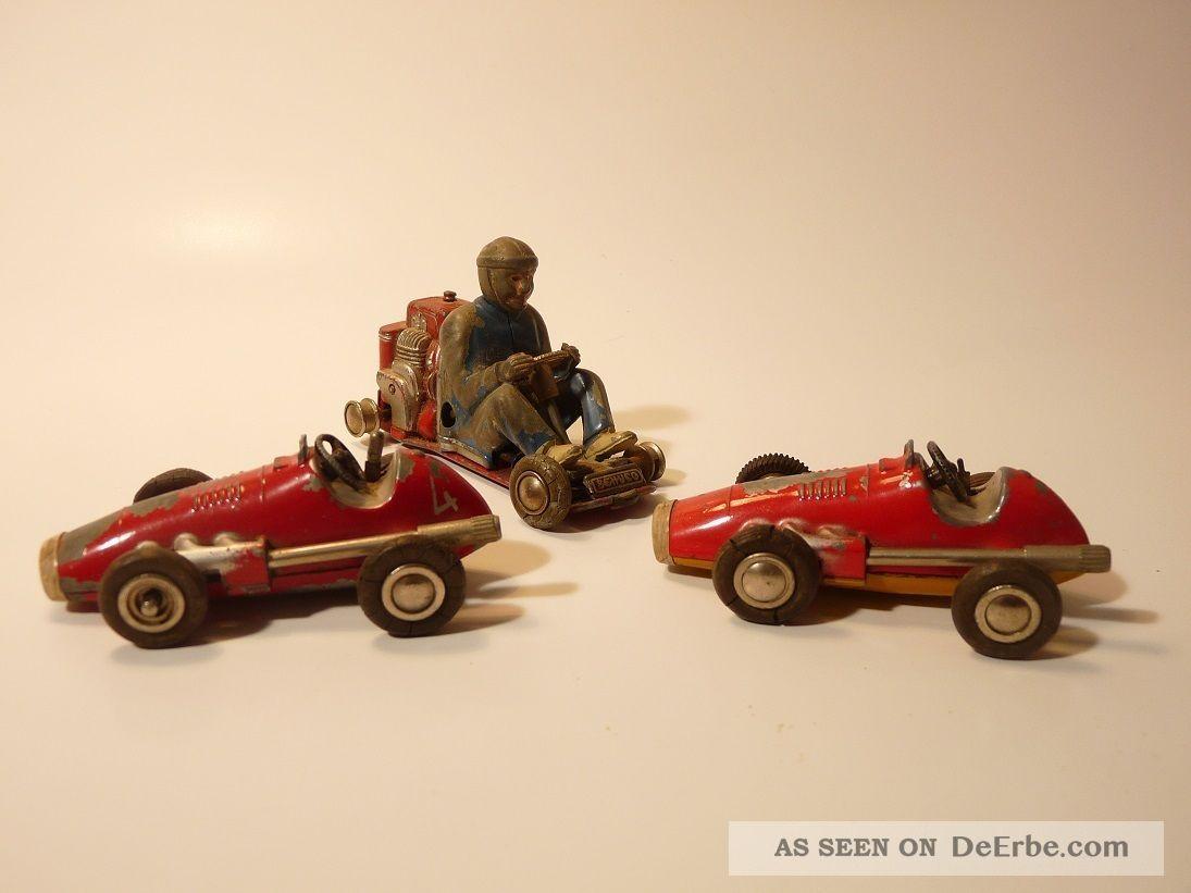 Konvolut alte spielzeugautos autos schuco micro racer alt