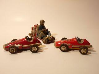 Konvolut Alte Spielzeugautos,  Autos Schuco Micro Racer,  Alt Bild