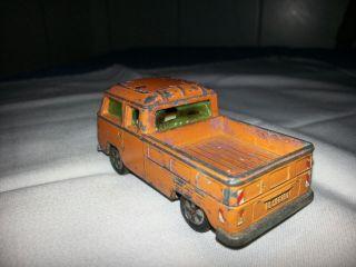 Vw Bus Siku Altes Gebrauchtes Spielauto,  Orange Bild