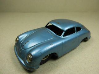 Alter Cko Porsche 356 A Coupe Blechspielzeug Kellermann Nr.  391 Tin Car Old Toy Bild